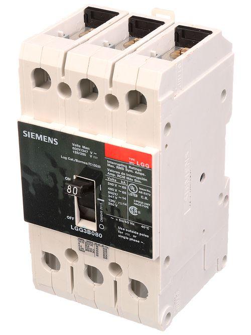 Siemens Ca LGG3B060L LGG MCCB, 600/