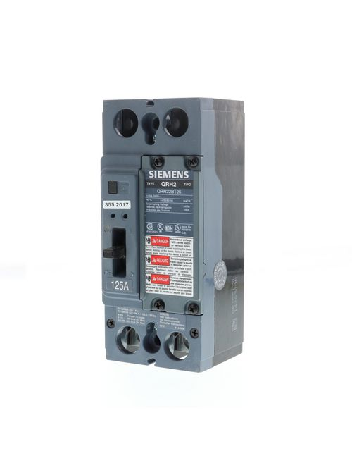 Siemens Ca QRH22B125 QR MCCB,25kA@2