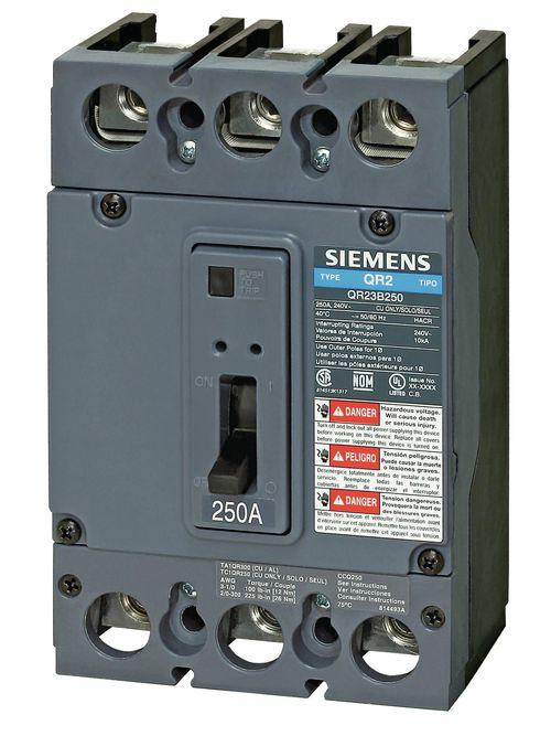 Siemens Ca QR23B100L QR MCCB,10kA@2