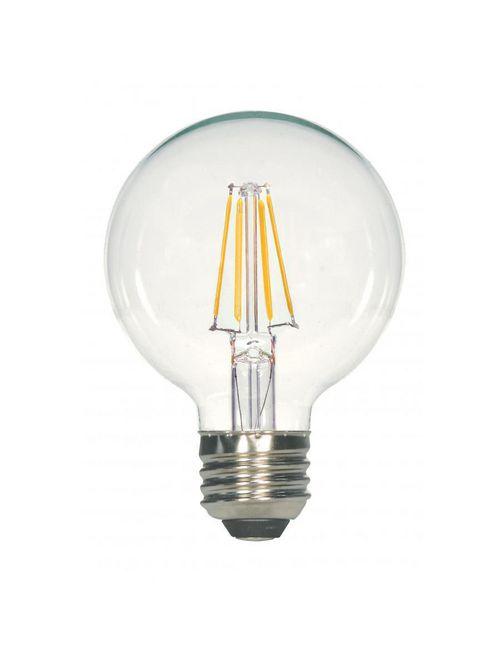 SATCO S29563 4.5G25/CL/LED/E26/27K/