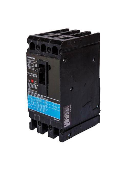 Siemens Industry ED43B060L 3-Pole 60 Amp 480 VAC 18 kA Circuit Breaker Lugs