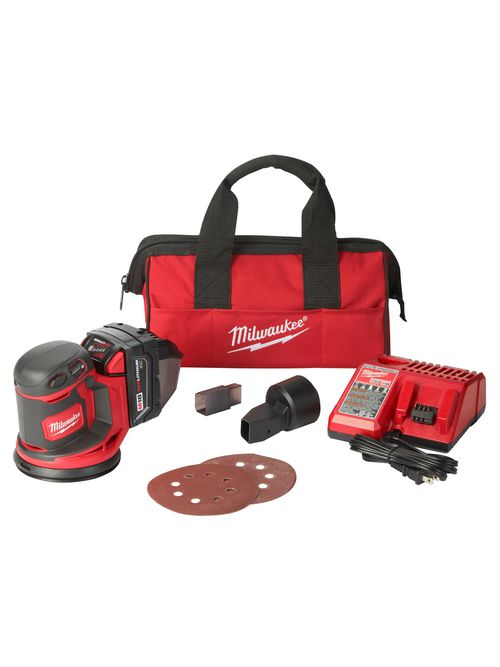 Milwaukee 2648-21 M18™ Random Orbit Sander Kit