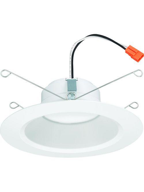 "Lithonia 65BEMW-LED-30K-90CRI-M6-GEN3 5/6"" Matte White Baffle, LED, 3000K 90CRI"