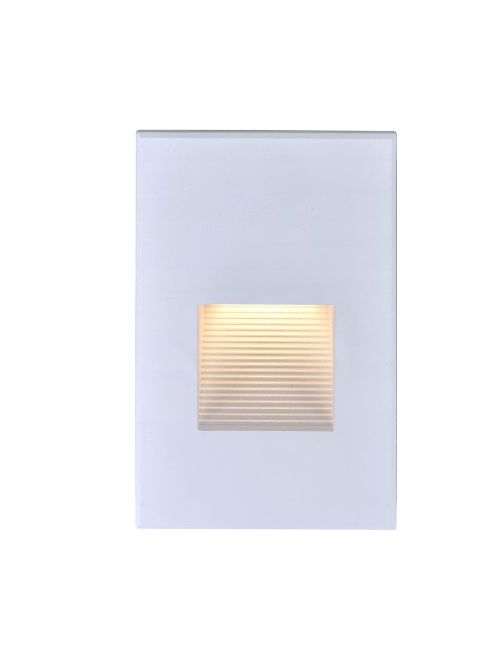 SAT 65/405 LED VERTICAL STEP LIGHT;3 WATT; WHITE FINISH; 120 VOLTS