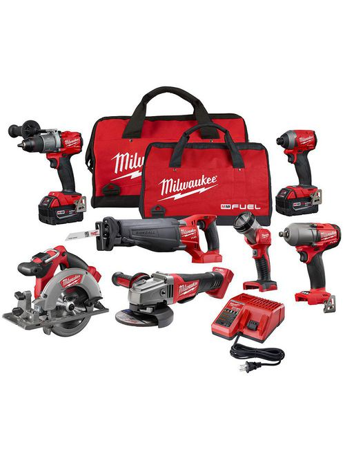 Milwaukee 2997-27 M18™ FUEL™ 7-Tool Combo Kit