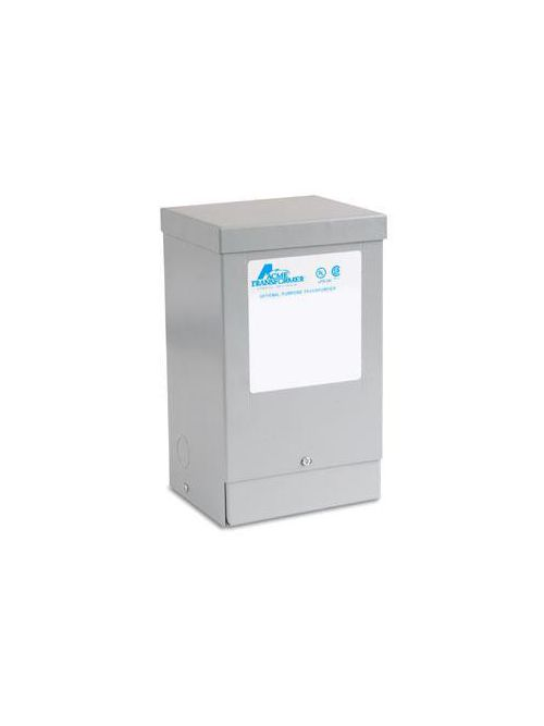 Actuant T181064 1 Phase 60 Hz 240 x 480 Primary Volt 24-48 Secondary Volt Buck-Boost Transformer
