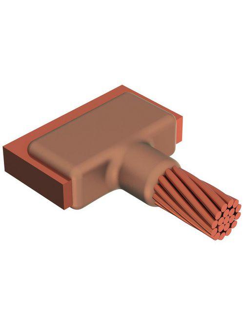 Erico LJCEG2Q 4/0 AWG to 1/4 x 1-1/2 Inch Cable to Busbar/Lug Mold