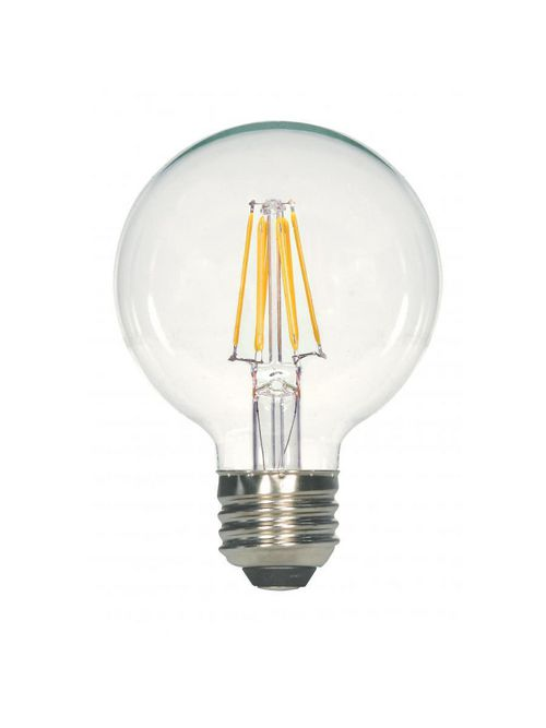SATCO S29878 5.5G25/CL/LED/E26/27K/