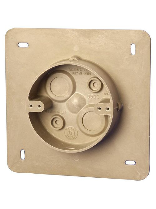 Allied Moulded Products AC9500 4 x 1-1/4 Inch 12 In Fiberglass Round Fixture Outlet Box