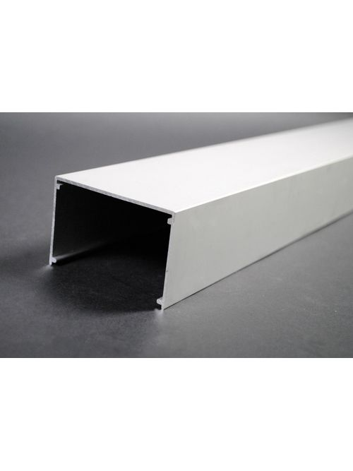 Wiremold AL3300B10 10 Foot x 2-7/8 x 1-7/8 Inch Satin Anodized Aluminum 1-Channel Raceway Base