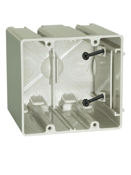 Allied Moulded Products SB-2 42.0 Inch  Internal Screws Adjustable Outlet Box