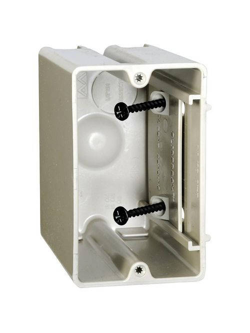 Allied Moulded Products SB-1 23.0 In Internal Screws Adjustable Outlet Box