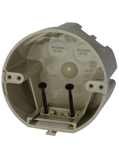 Allied Moulded Products SB-CB 2-3/4 x 4 Inch 26 In Steel Stud/Wood Screw Ceiling Fixture Box