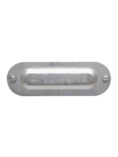 Crouse-Hinds Series 150 1/2 Inch Die-Cast Aluminum Conduit Body Cover