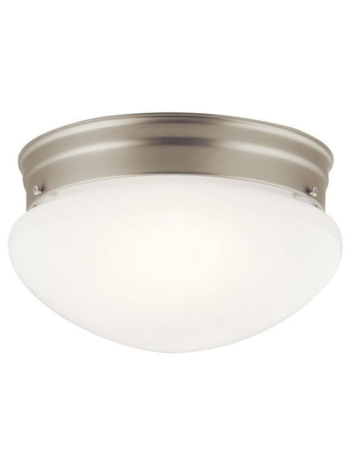 Kichler 209NI 2-Light Flush Mount Lighting Fixture