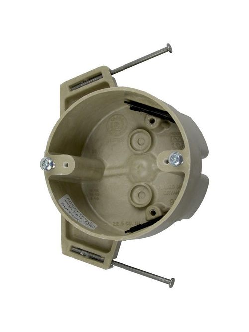 Allied Moulded Products 9351-NKFR 4 Inch Diameter 22.5 In Speed Clamp Fan and Fixture Support Box