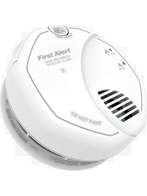 BRK SC7010B AC 120 Volt Combo Smoke/Carbon Monoxide Alarm