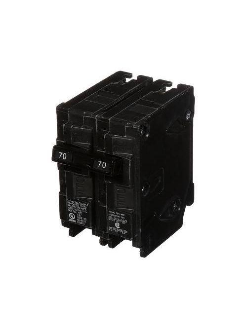 Siemens MP270 2-Pole 120/240 VAC 70 Amp 10 kA Plug-In Common Trip Circuit Breaker
