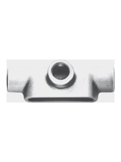 Crouse-Hinds Series T59 1-1/2 Inch Copper Free Aluminum Mark9 Type T Threaded Rigid Conduit Body