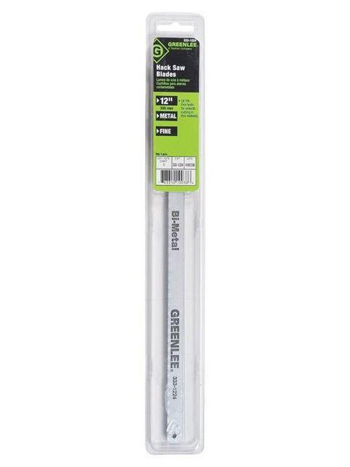 Greenlee 333-1224 24 Inch 18 TPI Bi-Metal Fully Adjustable Hacksaw Blade