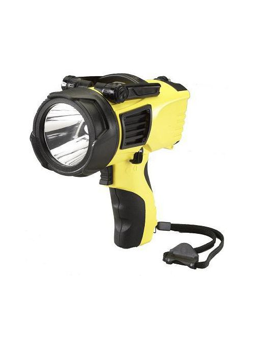 Streamlight 44900 12 VDC 550 Lumen Yellow Polycarbonate Power Cord Waypoint Flashlight