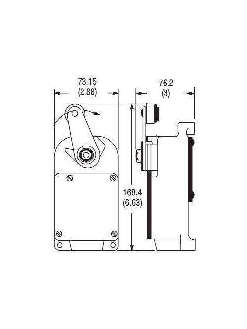 Allen-Bradley 801-AMC211 General Purpose Limit Switch