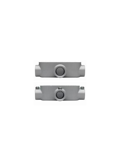 Crouse-Hinds Series T85 3 Inch Die-Cast Aluminum Type T Rigid/IMC Conduit Body