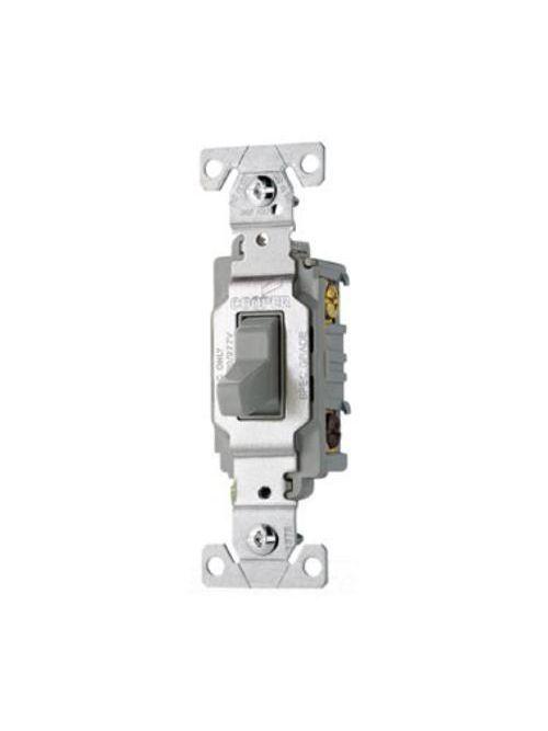 Arrow Hart Wiring CS320GY 3-Way 20 Amp Toggle Switch