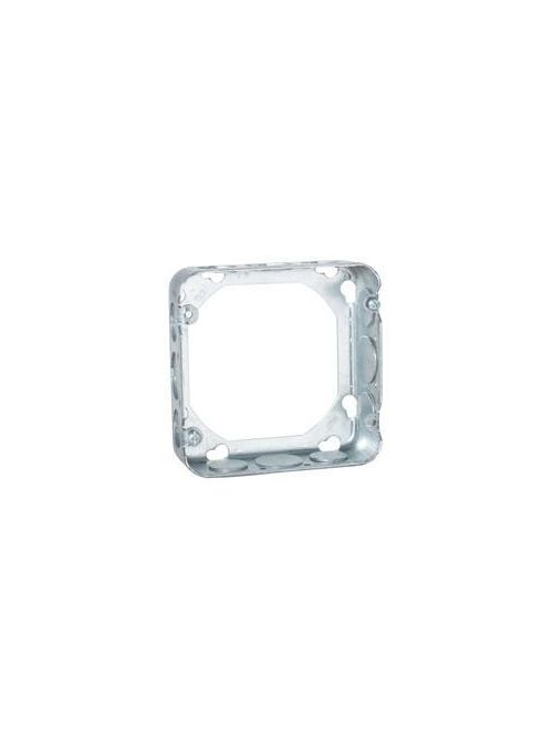 Raco 250 4-11/16 x 4-11/16 x 1-1/2 Inch 29.5 In Steel Square Cover Extension Ring
