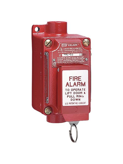 Hubbell Electrical Systems XAL-53 1NO/1NC Pull Ring Fire Alarm Station