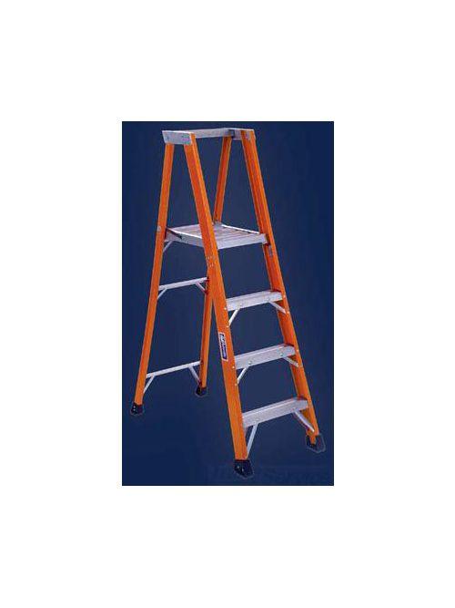 Louisville Ladder FP1410HD 10 Foot 375 lb Duty Rating Fiberglass Platform Ladder