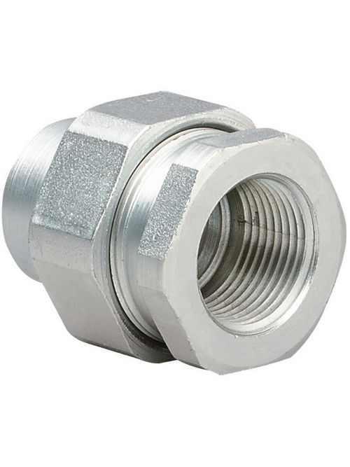 Hubbell Electrical Systems UNF2 3/4 Inch Zinc Plated Steel Female-to-Female Conduit Union