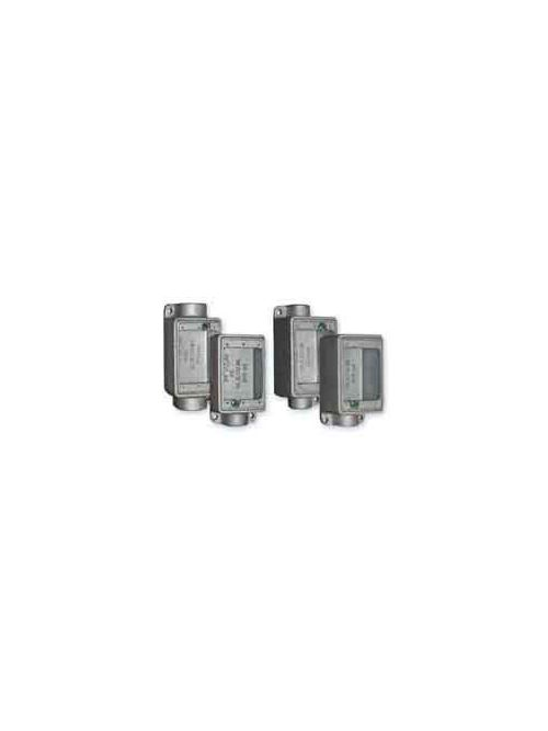 Crouse-Hinds Series RCM1 Malleable Iron Type FS and FD Device Box Duplex Receptacle Cover