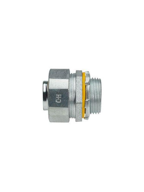 Crouse-Hinds Series LTB300G 3 Inch Malleable Iron Insulated Straight Liquidtight Conduit Connector