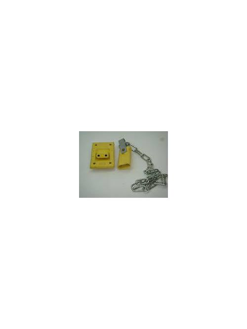 Crouse-Hinds Series X8381-7 2-Pole Male Shorted Dummy Plug with 2 Foot Chain