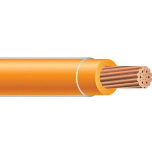 XHHW 14 AWG 7 Strand Copper Orange 2500 Foot Reel Cable